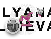 Ulyana Lineva logo and website