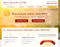 Direct Cremation of Ohio Website Design