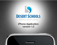 Desert Schools iPhone App