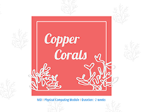 Copper Corals - Interactive Installation, UX