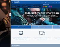 Moodle - Modern & Minimalistic PSD Template