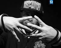 FOTO RETRATO DJ SHINGESTARR B/N