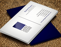 Saint Germain Square Business Card