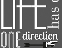 Life has only one direction.