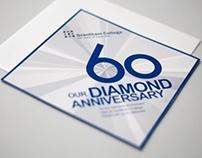 Diamond Dinner Invite & Menu