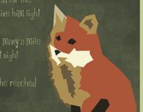 The Fox poster/custom font
