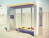 Taxi Stand - Shelter Design