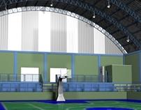 Projeto 3D - Ginásio de Esportes