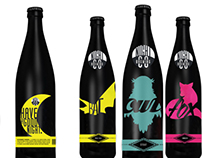 Bottle Design: Packaging for Night Beer