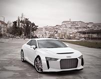 Audi Quattro Concept Coupe 2010 version 3D modeling