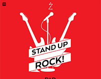 PAD: Stand Up Rock!