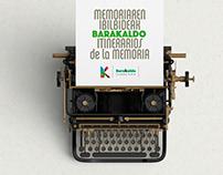 Memoriaren Ibilbideak • Itinerarios de la Memoria