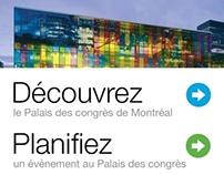 Palais des congrès de Montréal, Pitch