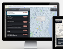 Tunedar NYC (Desktop & tablet)