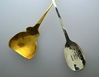 Spoons make music