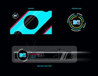 Motion Graphics Design - Super Bar , Transitions Design