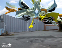 3d graffiti - sketch 63