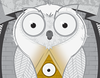 Wise Owl Illustration