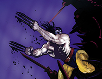 Rolling Thunder-Wolverine and Ninjas