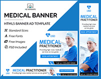 Medical Banner- HTML5 Ad Templates