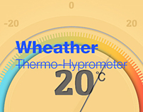 Wheather Thermo-Hyprometer