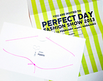 "Fashion Show Invitations - mystic SS 2013 ""PERFECT DAY"""