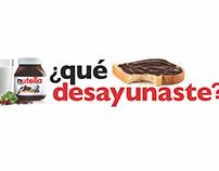 Nutella el Desayuno más Grande de México