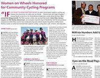 publication design SANTA BARBARA BICYCLE COALITION