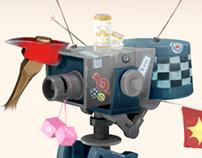 Team Fortress sentry gun concept