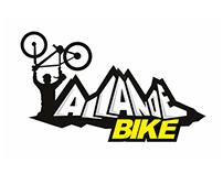 Allande BTT. Logo design, advertising and cycling kit.