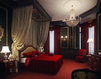 Caravaggio's Hotel Room