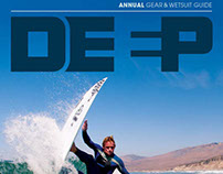 publication design DEEP SURF MAGAZINE