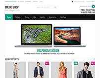 Maxxi, Magento Premium Apparel Clothing Theme