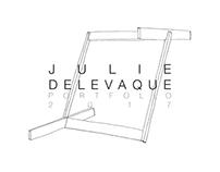 Julie Delevaque 2017 portfolio