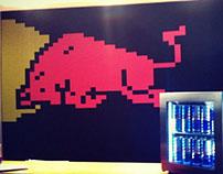 Red Bull Pixels Bar