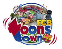 """APP """"FCB Toons Town"""""""
