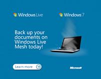 Microsoft Windows Live Banner