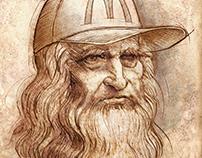 """Advertisements for the """"McDa Vinci Weeks"""""""