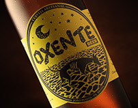 OXENTE BEER -  Identidade visual