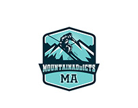 I need a logo for a Blog about MOUNTAINEERING