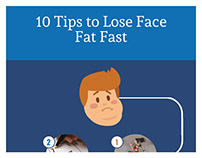 How-to-Lose-Face-Fat-Fast-Infographic