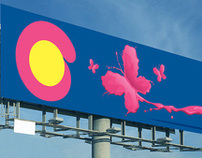 Orient Paints, outdoor campaign