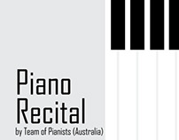 PIANO RECITAL CAMPAIGN DESIGN