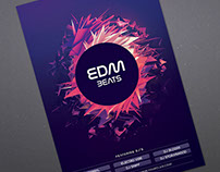 EDM Beats Flyer