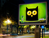 Guarana OOH The Owl