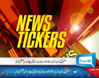 News Tickers For Dunya Tv