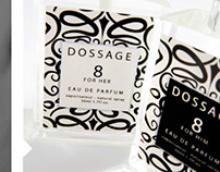 Dossage Fragrance Packaging Design