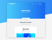 Webdesign for akouspesne.sk