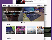 TechMag | bootstrap Template Design