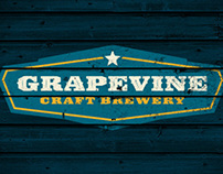GRAPEVINE CRAFT BREWERY – BRAND IDENTITY